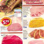 Fleisch, Wurst und Fisch bei Edeka