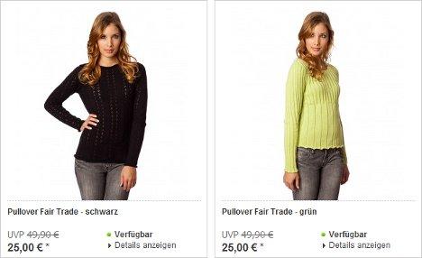 Kleidung aus organischer Baumwolle von Living Crafts bis 56% reduziert