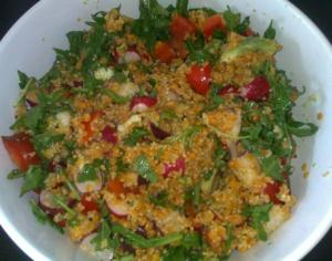 Skinfood: Veganer Linsen-Hirse-Salat für schöne Haut