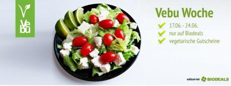 Vegetarische VEBU Woche bei Biodeals + 10% Extra-Rabatt mit Gutschein