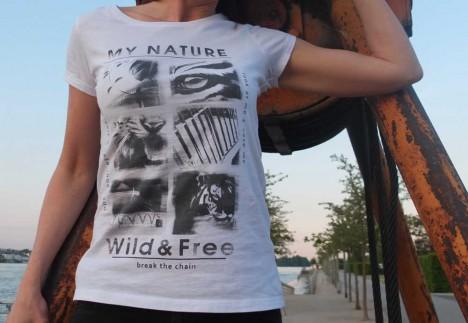 4Sense Shirts My Nature Wild and Free