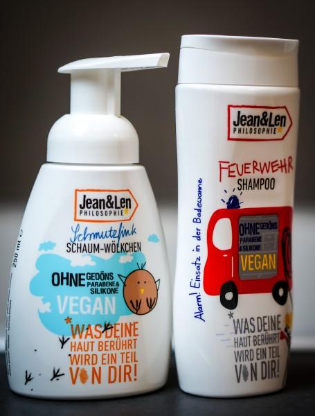 Alarm in der Badewanne: Vegane Körperpflege-Produkte für Kids!