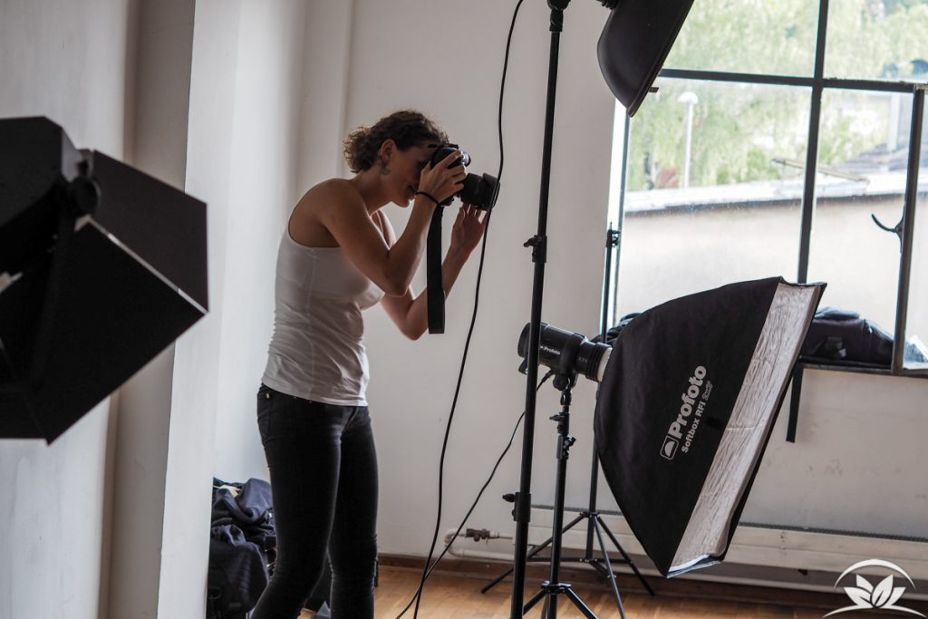Lana Kollektions Shooting mit Lena Scherer