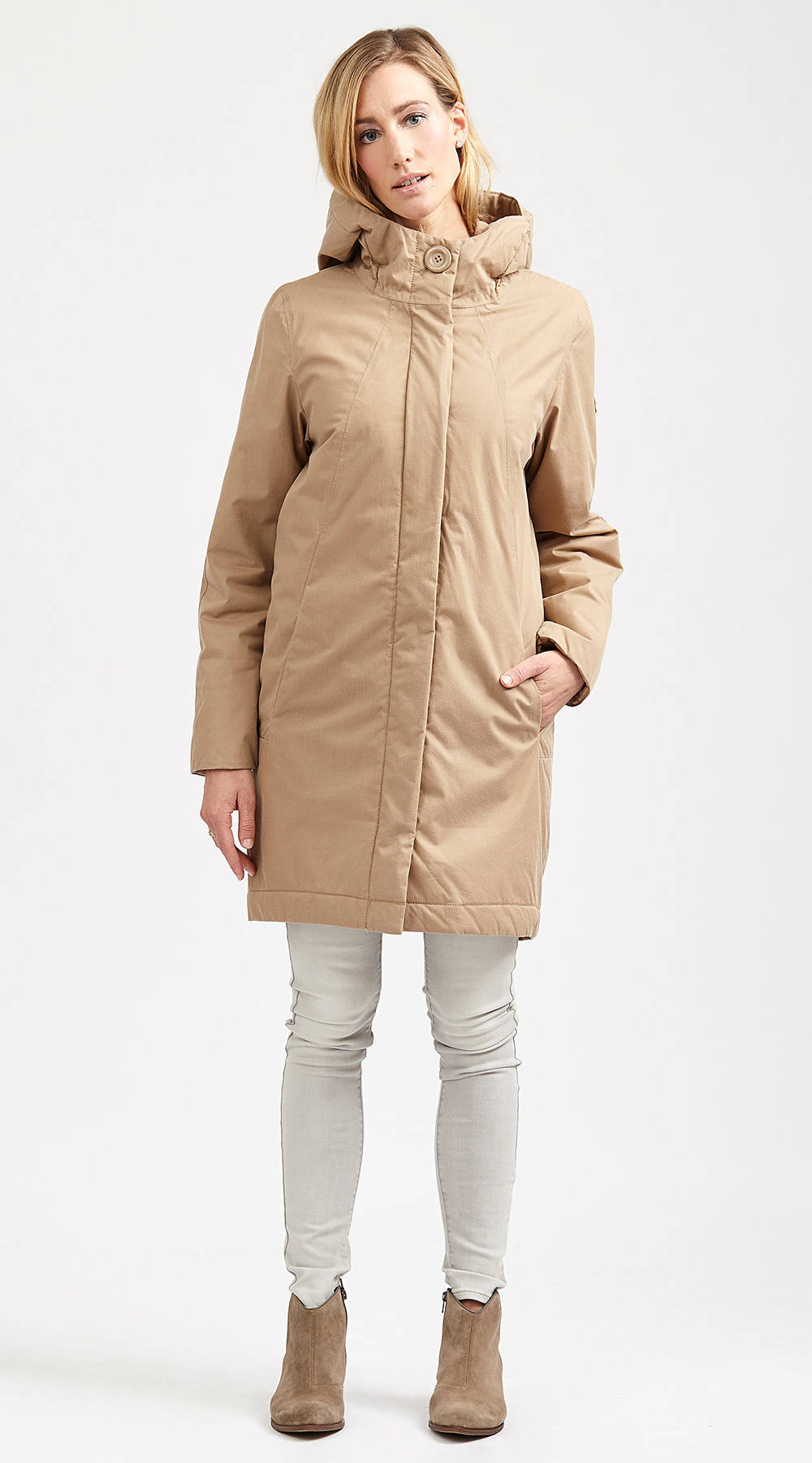 Langerchen Coat Ariza almond