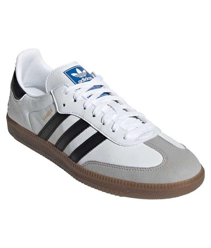 "adidas Originals ""Samba VEGAN"" Sneaker Cloud White / Core Black / Gum"