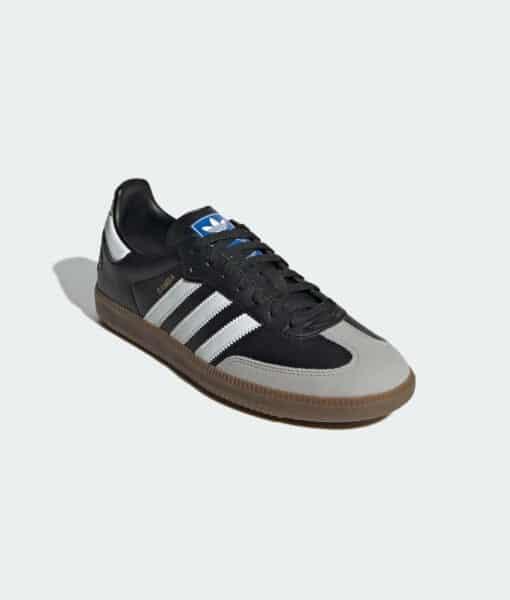 "adidas Originals ""Samba VEGAN"" Sneaker Core Black / Cloud White / Gum"