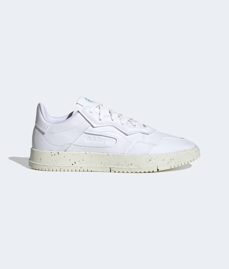 "adidas Originals ""SC Premiere Vegan"" Sneaker Cloud White / Off White / Green"