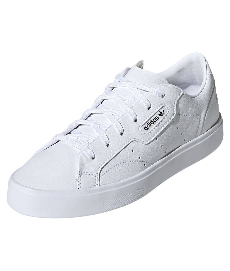 "adidas Originals ""Sleek Vegan"" Sneaker Cloud White / Green / Core Black"