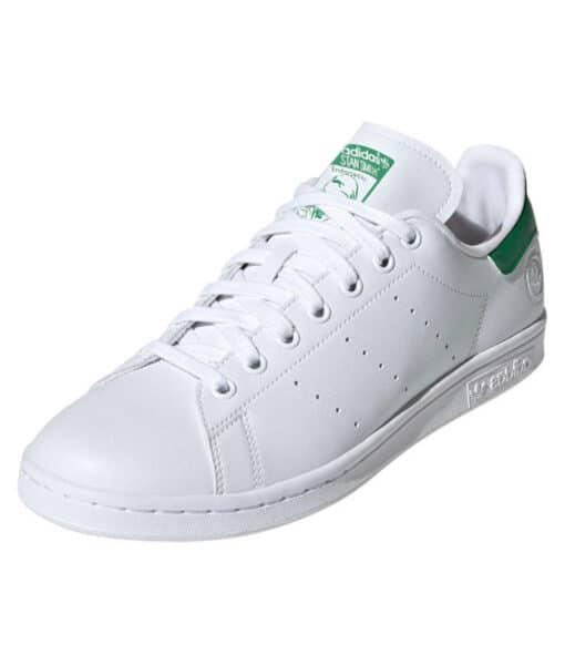 "adidas Originals ""Stan Smith VEGAN"" Sneaker Cloud White / Cloud White / Green"