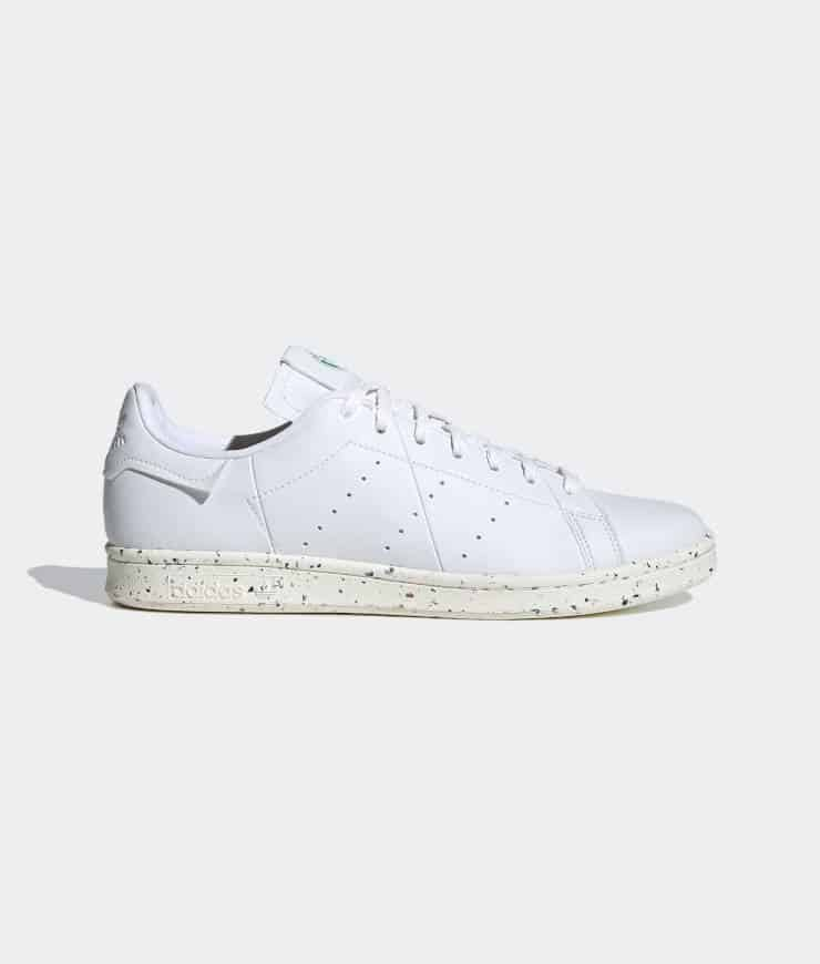 "adidas Originals ""Stan Smith VEGAN"" Sneaker Cloud White / Off White / Green"