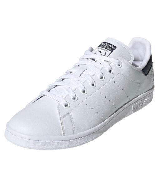 "adidas Originals ""Stan Smith VEGAN"" Sneaker Cloud White / Collegiate Navy / Green"
