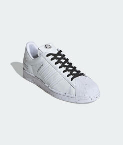 "adidas Originals ""Superstar Vegan"" Sneaker Cloud White / Cloud White / Core Black"