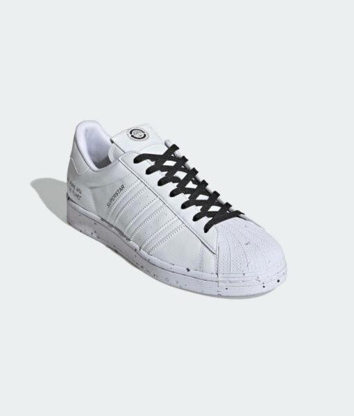 "adidas Originals ""Superstar Vegan"" Sneaker Cloud White / Cloud White / Core Black"