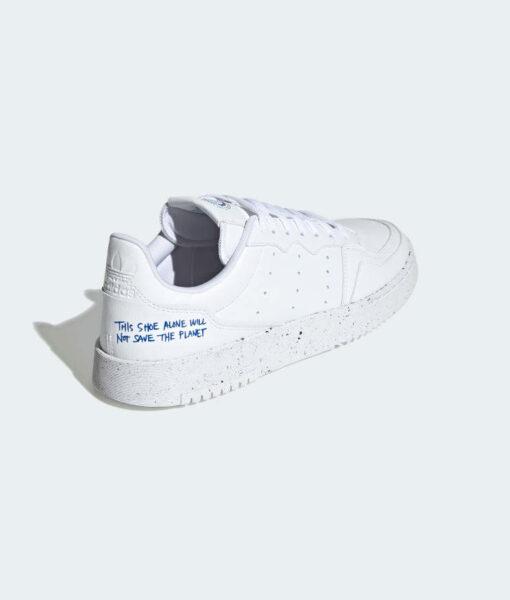 "adidas Originals ""Supercourt Vegan"" Sneaker Cloud White / Collegiate Royal"