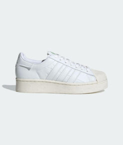"adidas Originals ""Superstar Bold Vegan"" Cloud White / Cloud White / Off White"