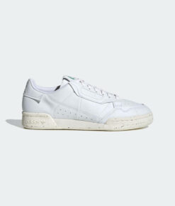 "adidas Originals ""CONTINENTAL 80 VEGAN"" Sneaker Cloud White / Off White / Green"