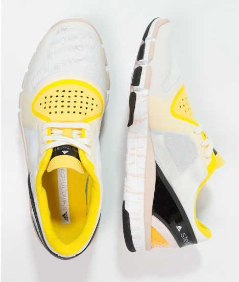 adidas by Stella McCartney ADIPURE ALAYTA Trainings / Fitnessschuh white vapour/raven/yolk yellow