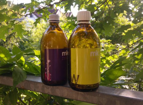 Meine gleerten Beauty Oil Maybritt Krewald Flaschen :)