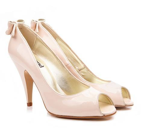 Beyond Skin: Emily - Nude faux patent