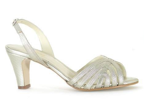 Beyond Skin: Luella - Gold Metallic Sandal