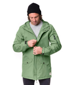 bleed Active Mantel Herren SYMPATEX® grün