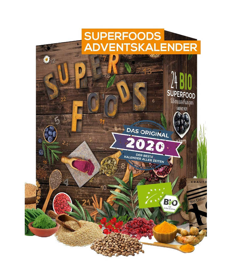 Boxiland Bio Superfood Adventskalender