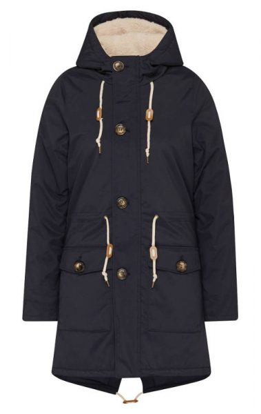 Damen Winter Parka Derbe Festland Friese navy