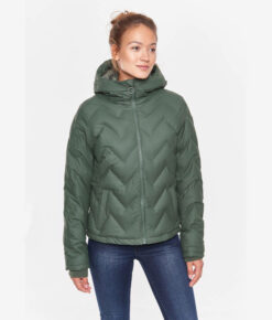 Derbe Damen Steppjacke Interlink Girls RC olive