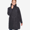 Derbe Damen Winterparka Interlink Girls RC schwarz