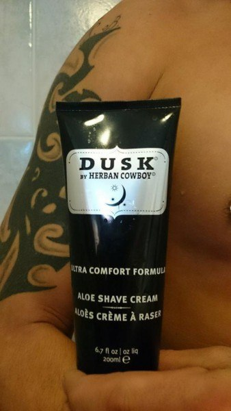 DUSK by Herban Cowboy Aloe Shave Cream vegan