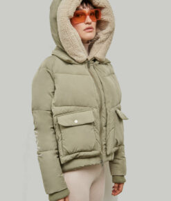 "Embassy of Bricks and Logs Winterjacke ""Leicester"" pale olive"