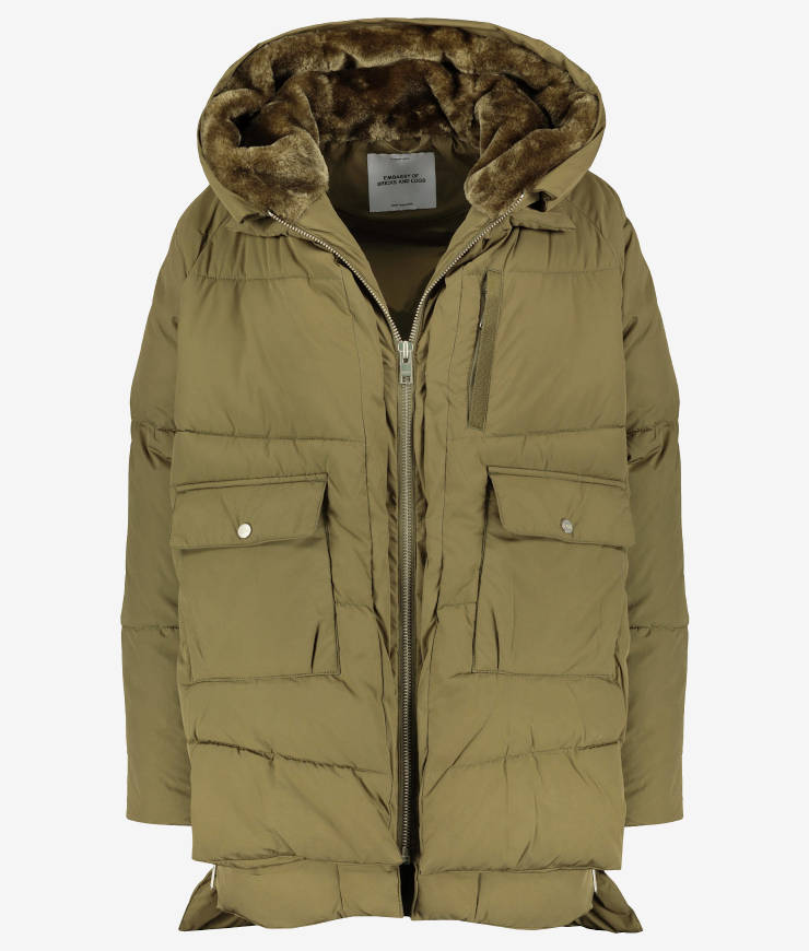 "Embassy of Bricks and Logs Winterjacke ""Lyndon"" olive"