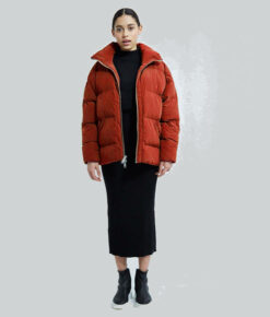 Embassy of Bricks and Logs Winterjacke Manitoba dark rust