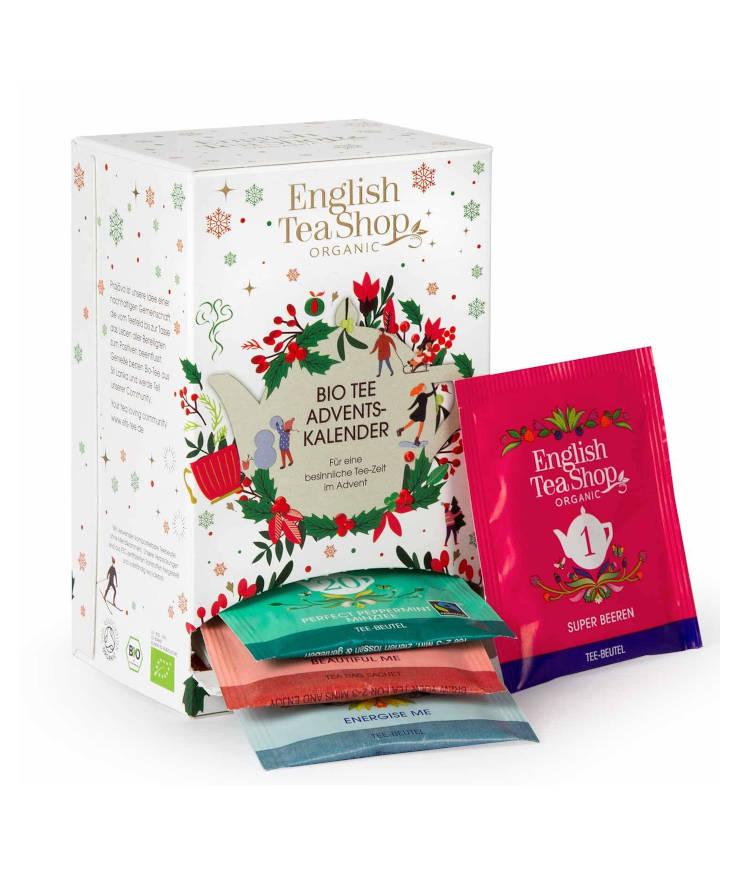 English Tea Shop Bio Tee Adventskalender weiß