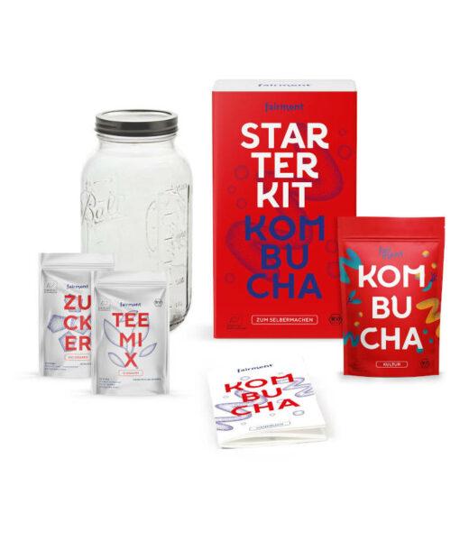 fairment Kombucha Starter Kit - Bio Kombucha selber machen