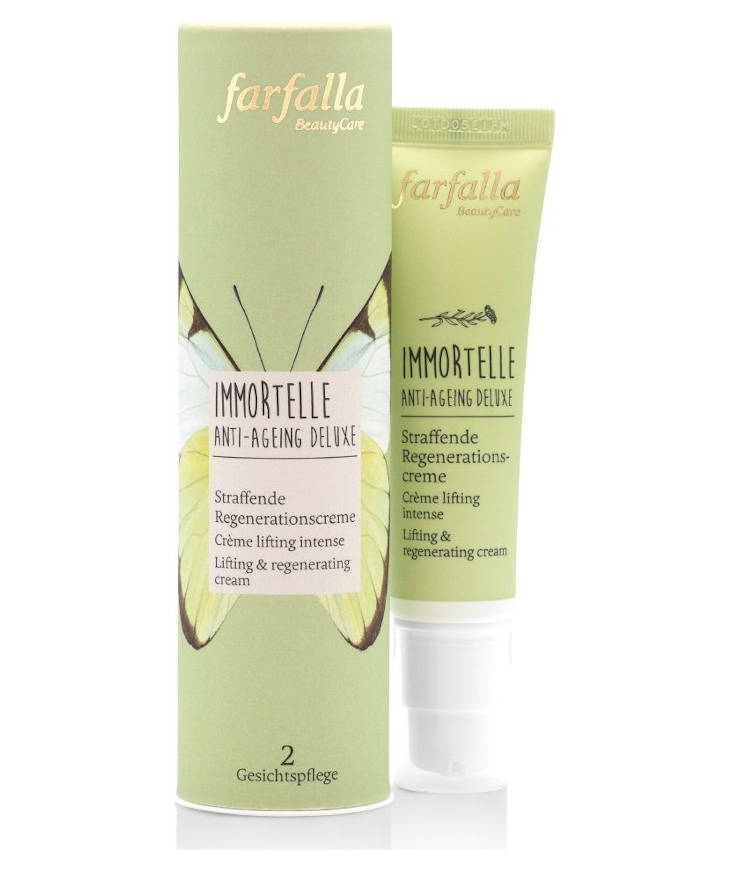 Farfalla Immortelle Anti-Ageing Deluxe Straffende Regenerationscreme
