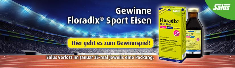 Floradix® Sport Eisen Gewinnspiel