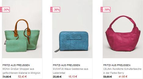 Vegane Taschen von Fritzi aus Preußen