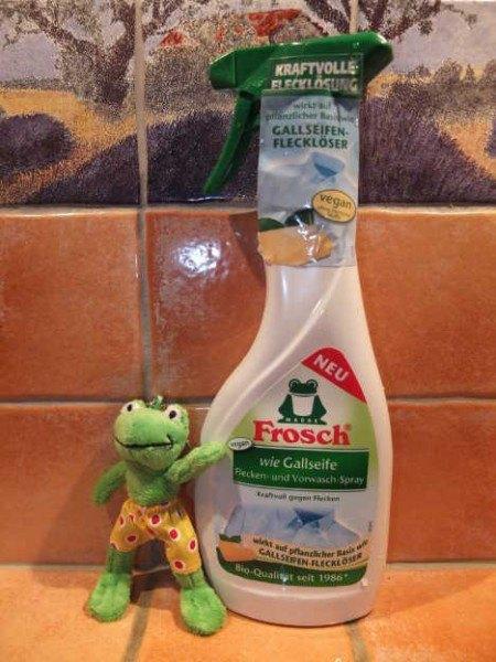 Im Test: Frosch wie Gallseife Flecken- und Vorwaschspray   ~ sponsored post ~