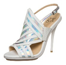 gx by Gwen Stefani ABBOT Sandale white/indescent