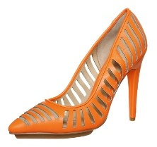 gx by Gwen Stefani ADDIE High Heel Pumps orange