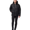 Hemp Hoodlamb Winterjacke Mens Classic Nightwatch Black