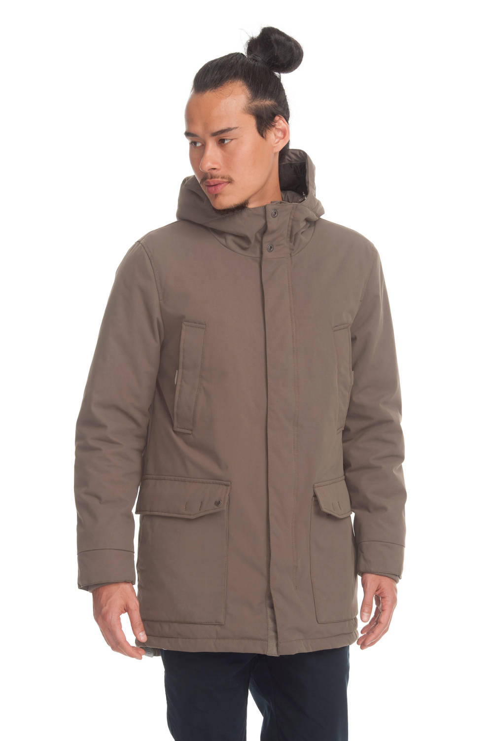Herrenjacke Ragwear Kramer ash brown