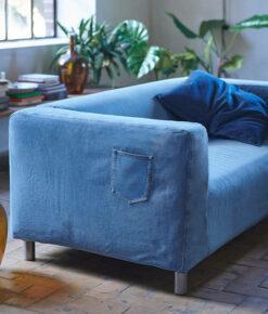 IKEA x MUD Jeans KLIPPAN Sofa Bezug 2er-Sofa