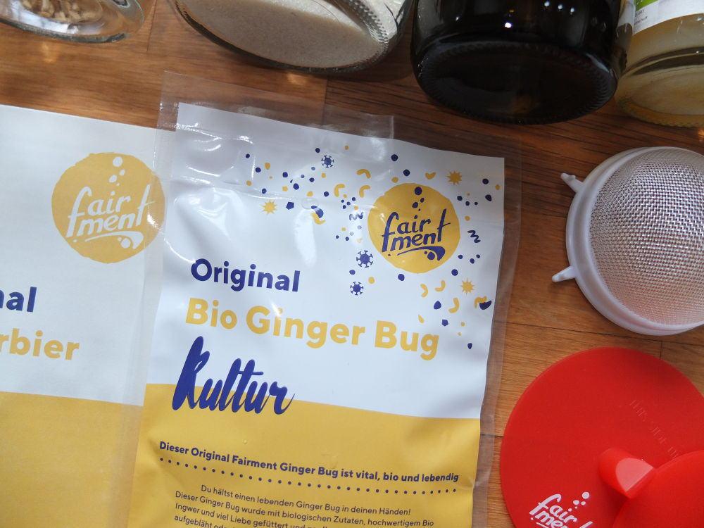 Der Bio Ginger Bug