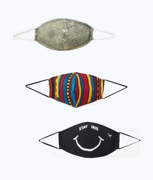Iriedaily fair produzierte Stoffmasken