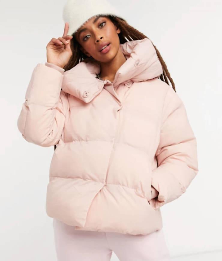 """jakke """"Patricia"""" Steppjacke aus recyceltem Polyester rosa"""