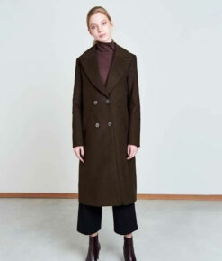 Jan 'n June Mantel Coat Europa mocca