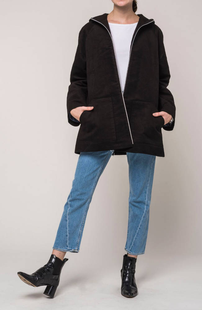 Jan 'n June veganer Parka Avignon black