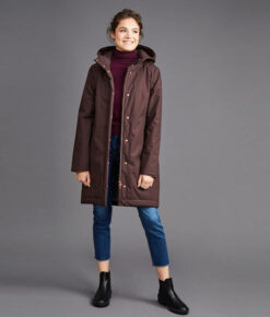 Langerchen Damen Coat Ariza mahogany